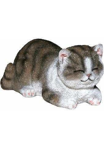 Casa Collection by Jänig Tierfigur »Katze grau-weiß, schläft« kaufen