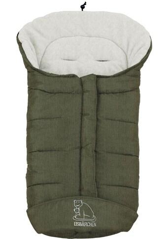 Heitmann Felle Fußsack »Eisbärchen - Winter-Fußsack«, Baby-Fußsack mit Fleecefutter, warm und weich kaufen