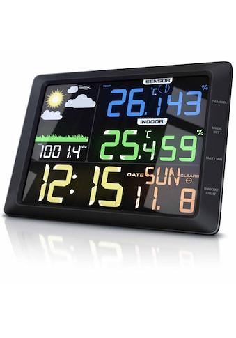 BEARWARE Wetterstation mit großem LCD Farbdisplay kaufen