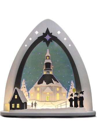 Weigla Lichterbogen »Seiffener Kirche«, in 3D Optik kaufen