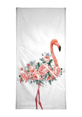 "Handtuch ""Flamingo"", Juniqe kaufen"