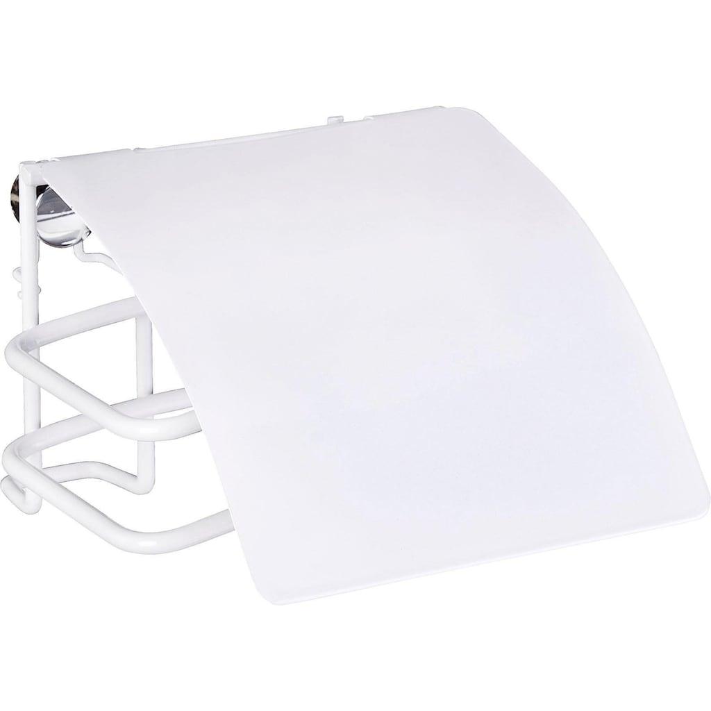 WENKO Toilettenpapierhalter »Classic Plus«, mit Deckel