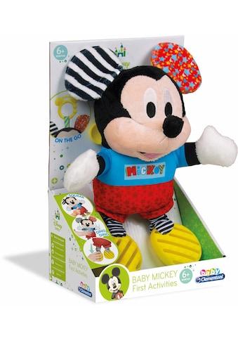 Clementoni® Plüschfigur »Disney Baby, Plüsch Mickey mit Beißring« kaufen