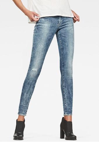 G - Star RAW Skinny - fit - Jeans »Midge Zip Skinny« kaufen