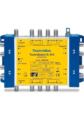 TechniSat SAT - Multischalter »TechniSwitch 5/8 K (Kaskade)« kaufen