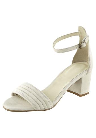 Sandalette aus Veloursleder kaufen