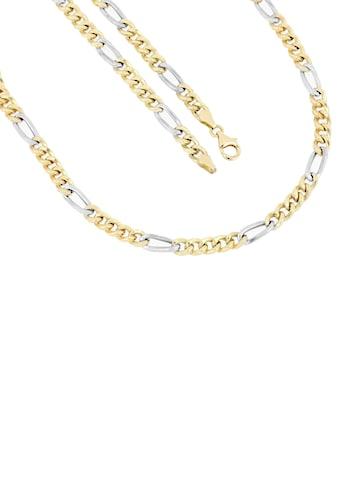 Firetti Goldkette »in Figarokettengliederung, 5,3 mm, rhodiniert, 5:1,... kaufen