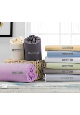 Florella Spannbettlaken »mit Rundumgummi Prestige, Matratzenhöhe bis 40 cm,... kaufen