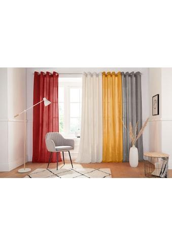 andas Vorhang »Tromso-Cord«, Cordstoff, blickdicht, modern, monochrom kaufen