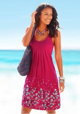 Beachtime Strandkleid, mit Blumenprint kaufen
