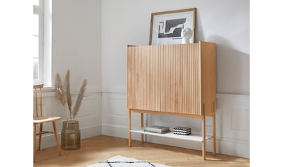 andas Barschrank »Jytte«, Design by Morten Georgsen, mit massiven Holzstreben in der... kaufen