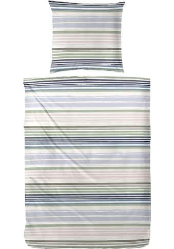 Primera Bettwäsche »Wavy Stripe«, mit modernen Streifen in frischen Farben kaufen