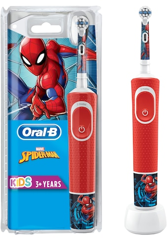 Oral B Elektrische Kinderzahnbürste »Kids Spiderman«, 1 St. Aufsteckbürsten kaufen
