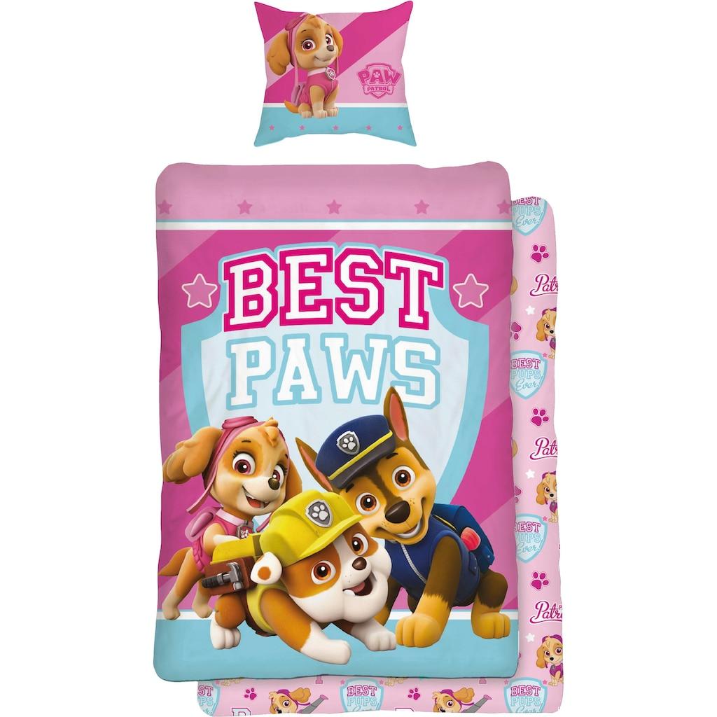 PAW PATROL Jugendbettwäsche »Best Paws«, mit Hunden