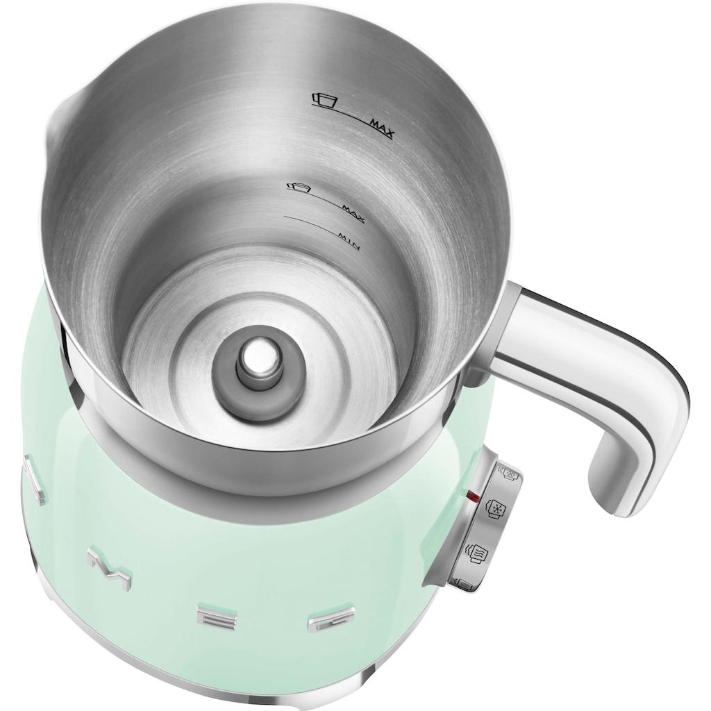 Smeg Milchaufschäumer »MFF01PGEU«, 500 W