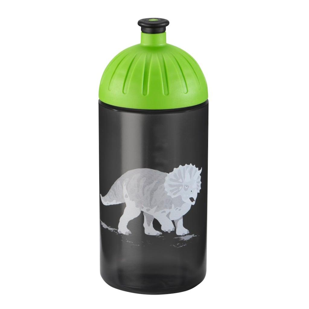 FreeWater Trinkflasche, Dino Life, Schwarz