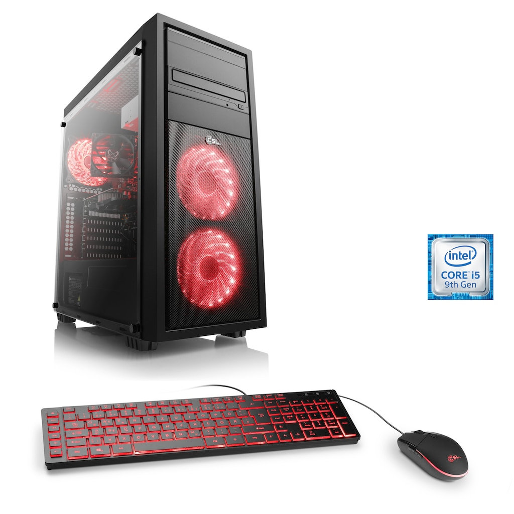 CSL Gaming-PC »Speed T5181 Windows 10 Home«