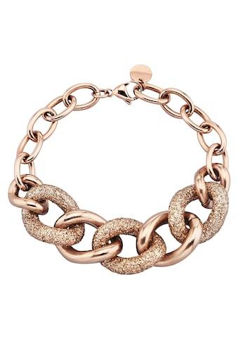 Jacques Lemans Armband »Edelstahl PVD rotvergoldet«, Armband kaufen