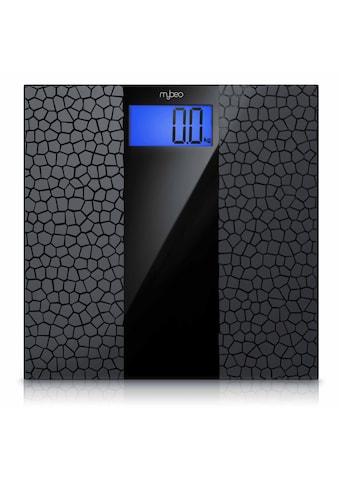 """MyBeo Digitale Körperwaage im Glas Design »3.5"""" Display / Anti-Rutsch-Oberfläche / max... kaufen"""