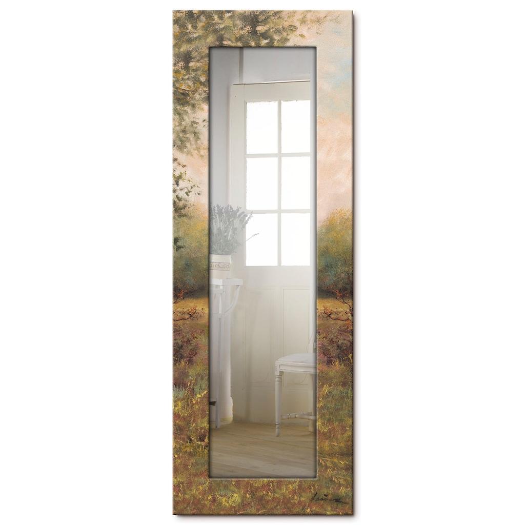 Artland Wandspiegel »Hirsch«, gerahmter Ganzkörperspiegel mit Motivrahmen, geeignet für kleinen, schmalen Flur, Flurspiegel, Mirror Spiegel gerahmt zum Aufhängen