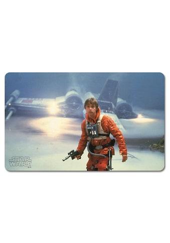 LOGOSHIRT Frühstücksbrettchen mit Star Wars – Luke Skywalker Motiv kaufen