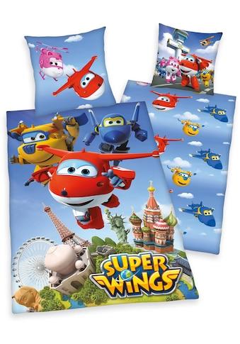 Kinderbettwäsche »Super Wings«, kaufen