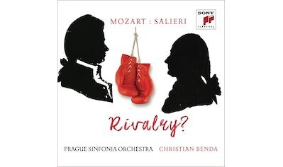 Musik-CD »Mozart versus Salieri: Rivalry? / Prague Sinfonia Orchestra/Benda,Christian« kaufen