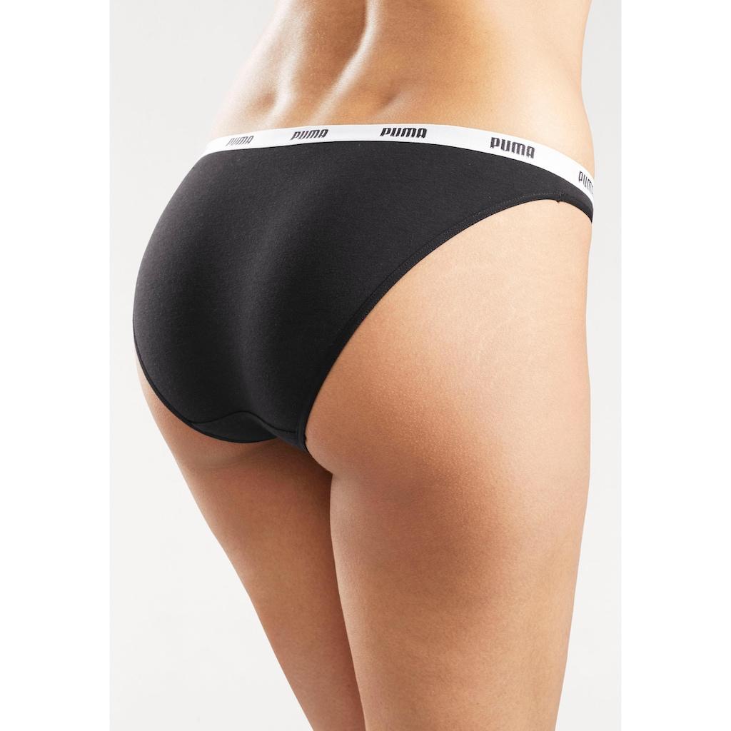 PUMA Bikinislip »Iconic Bikini«, (2 St.)