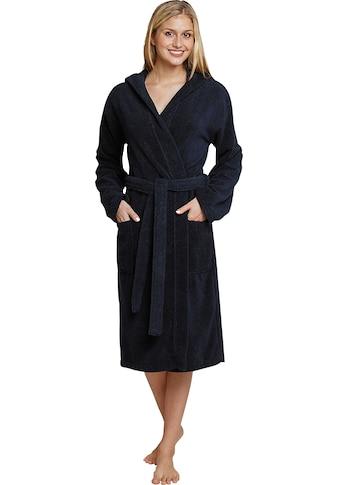 Schiesser Damenbademantel »128545«, in weicher, gemütlicher Frottee-Qualität kaufen