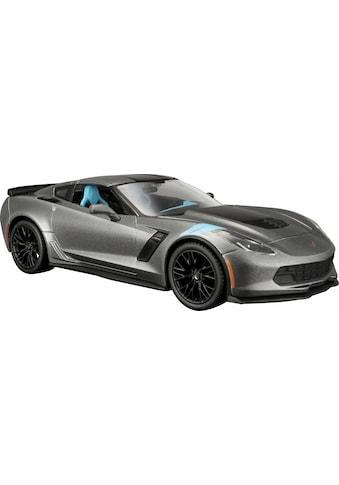 Maisto® Spielzeug-Auto »Chevrolet Corvette Grand Sport 17, 1:24, grau« kaufen