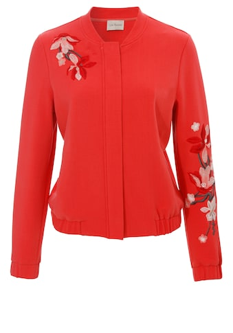 VIA APPIA Bestickte Jacke im Blouson-Stil kaufen