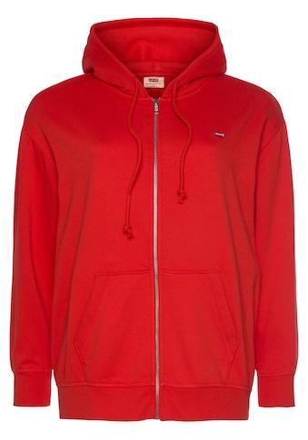 Levi's® Plus Sweatjacke »Standard Zip Hoodie«, mit Kapuze kaufen