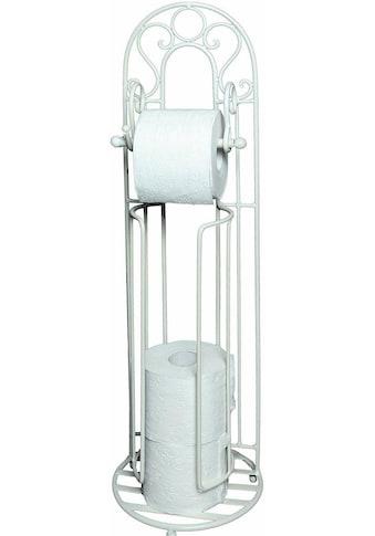 Ambiente Haus Toilettenpapierhalter »Antik«, weiß kaufen