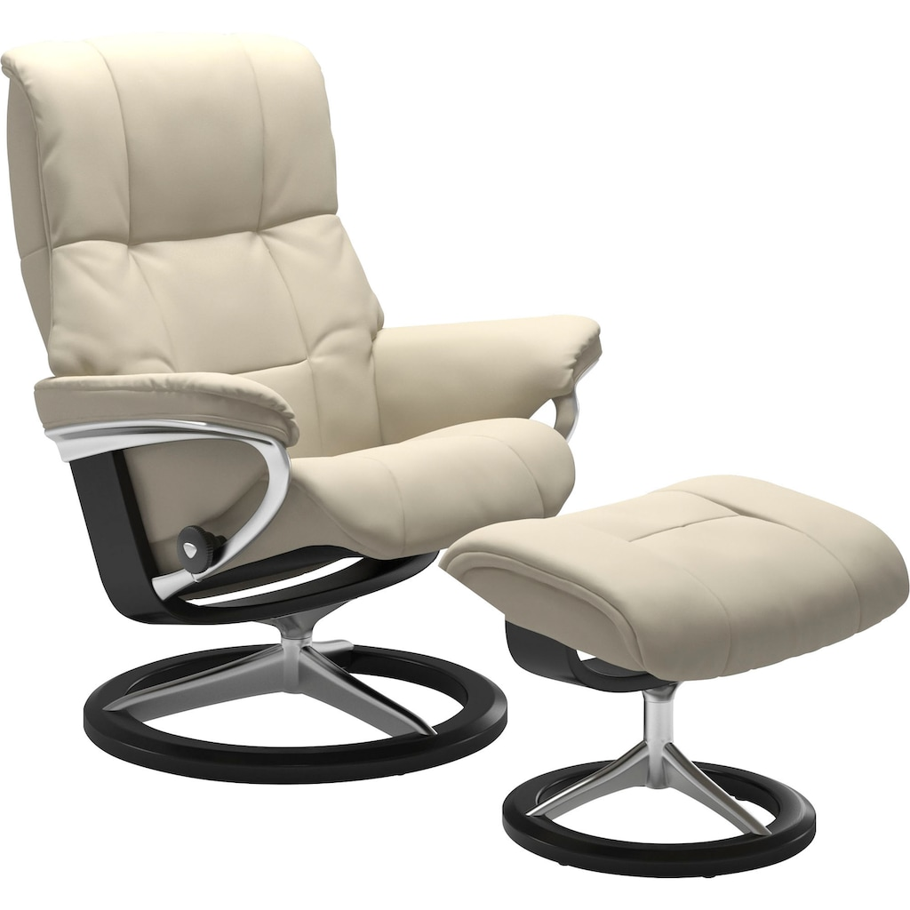 Stressless® Relaxsessel »Mayfair« (Set, 2-tlg., Relaxsessel mit Hocker)
