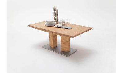 MCA furniture Esstisch »Cuneo A«, Esstisch Massivholz ausziehbar kaufen