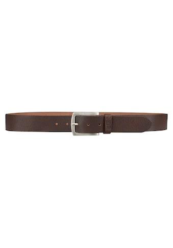 H.I.S Ledergürtel, Genuine Leather kaufen