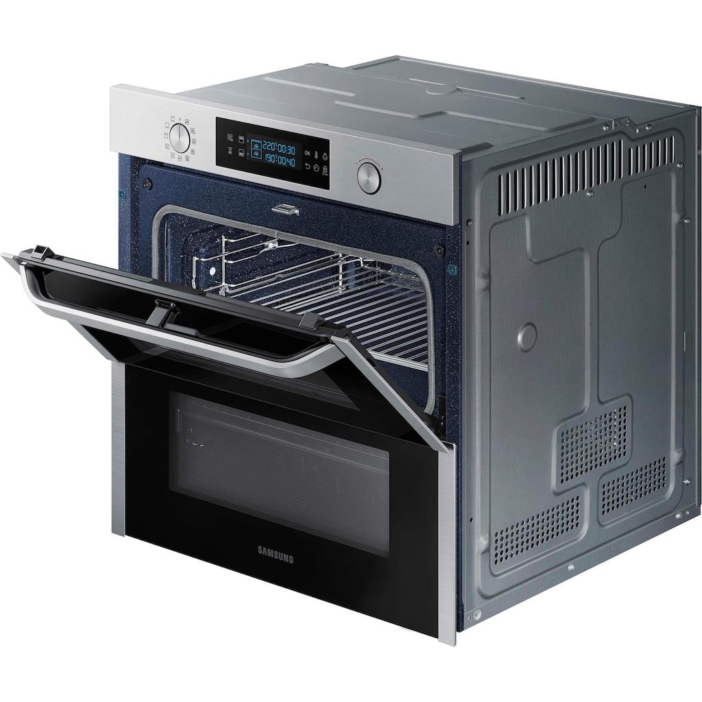 Samsung Pyrolyse Backofen »NV75N5671RS/EG«, NV75N5671RS, mit 1-fach-Teleskopauszug, Pyrolyse-Selbstreinigung, Dual Cook Flex