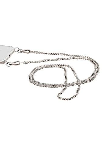 Hama Handykette »Umhängeband, Silber«, aus Kunstleder/ Metall für Cover kaufen