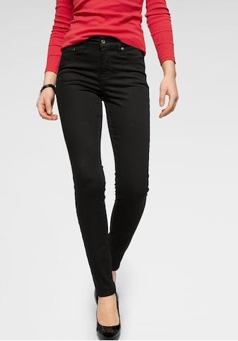 Arizona Slim-fit-Jeans »black stays black«, High Waist kaufen