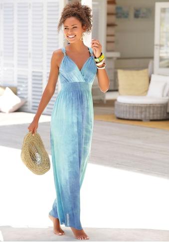 LASCANA Maxikleid, mit Batikdruck kaufen
