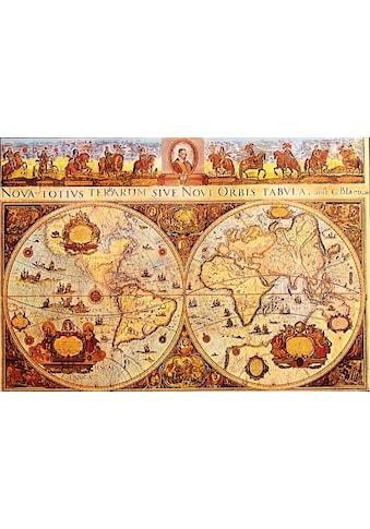 DELAVITA Kunstdruck »Old Worldmap«, (1 St.) kaufen