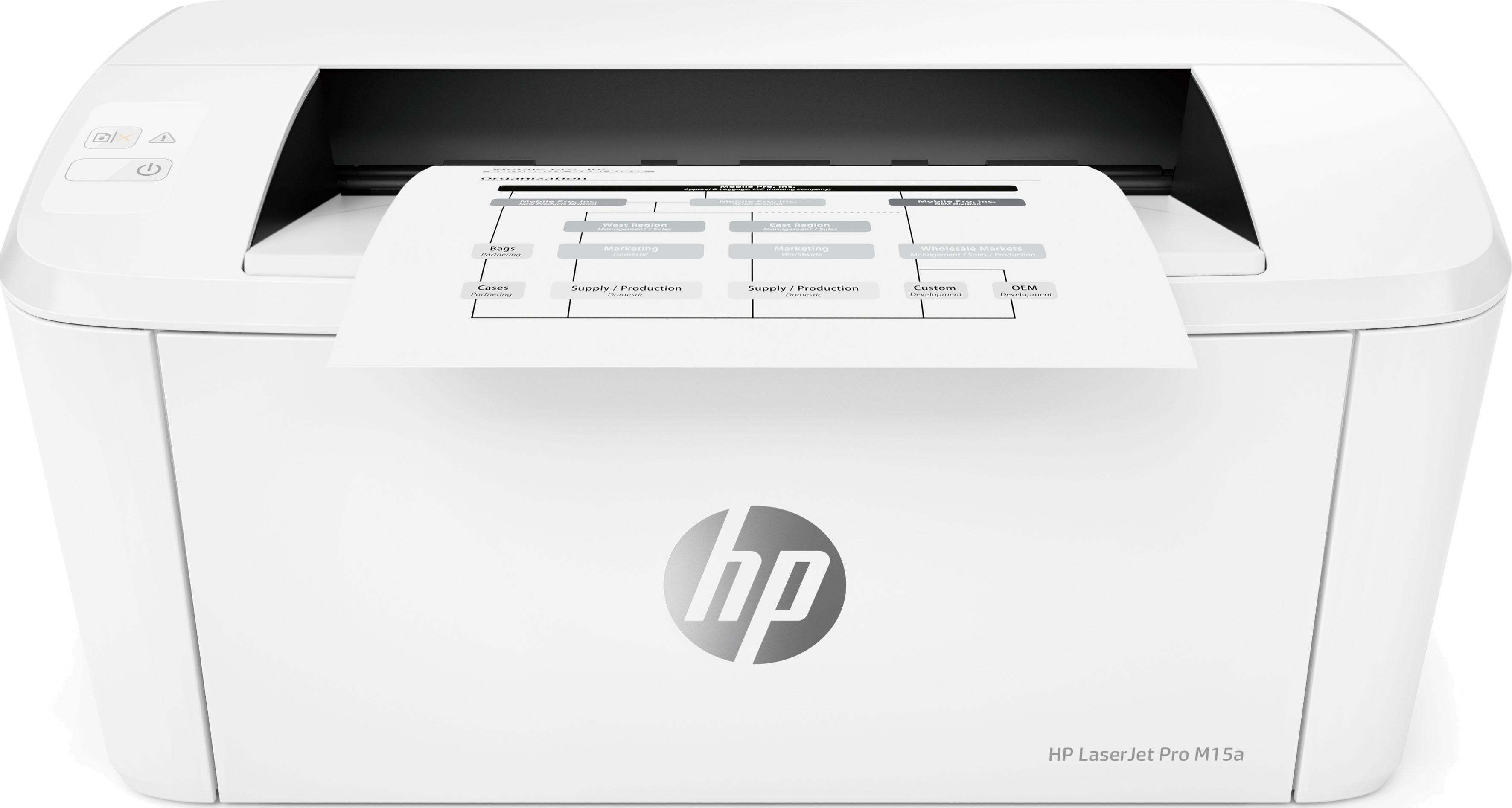 hp laserjet pro m15a laserdrucker auf rechnung online