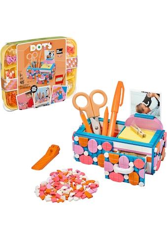"""LEGO® Konstruktionsspielsteine """"Stiftehalter mit Schublade (41907), LEGO® Dots"""", Kunststoff, (405 - tlg.) kaufen"""