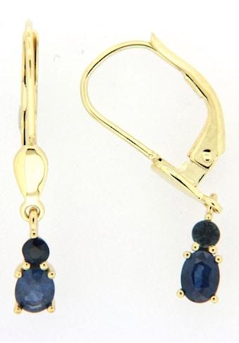 Firetti Paar Ohrhänger, mit Saphir kaufen