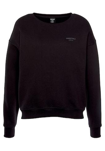 DSCVR Sweatshirt »Essentials«, Innen wunderbar weich angerauht kaufen