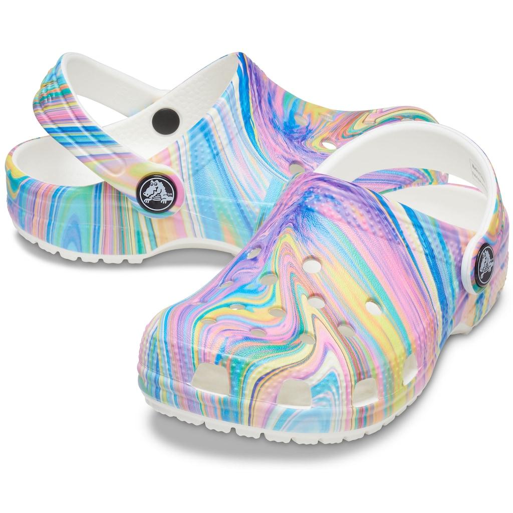 Crocs Clog »Classic Out of This World 2 Clog Kids«, mit buntem Farbverlauf