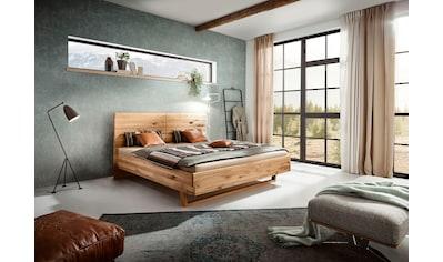 ADA premium Massivholzbett »Gisele«, in Wildeiche, wahlweise mit Matratze und Lattenrost kaufen
