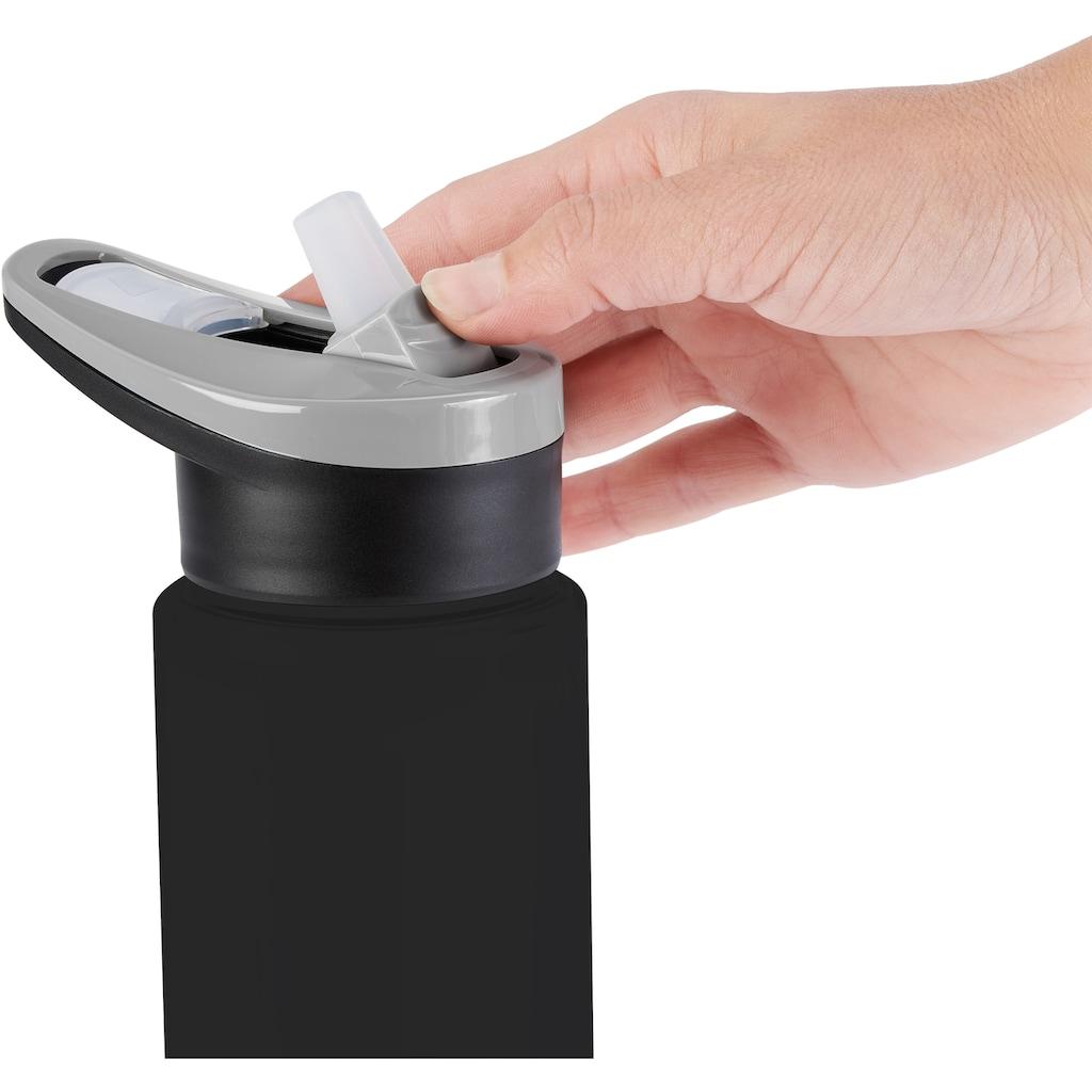 Emsa Trinkflasche »Drink2Go Light Steel«, (1 tlg.), aus super leichtem Edelstahl, 600 ml