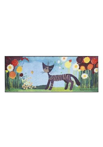 Fußmatte ROSINAMARGHERITE Katze, waschbar kaufen