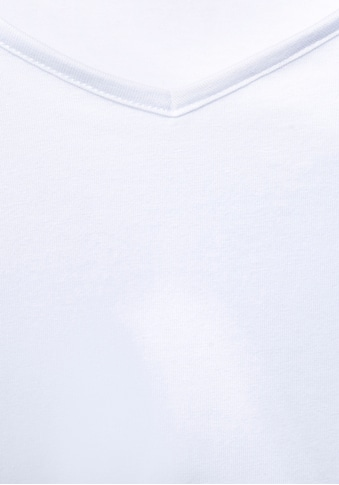 STREET ONE V-Shirt, ein perfektes Basic-Top kaufen